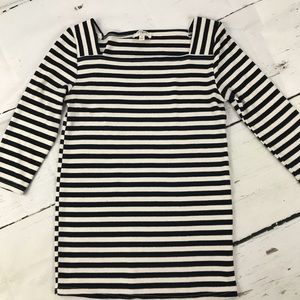 Umgee striped boat neck sweater